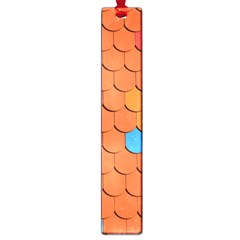 Roof Brick Colorful Red Roofing Large Book Marks by Onesevenart
