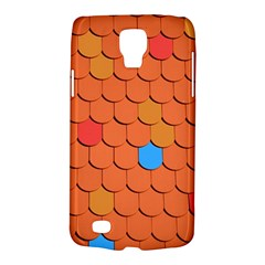Roof Brick Colorful Red Roofing Galaxy S4 Active by Onesevenart