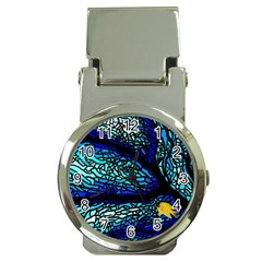Sea Fans Diving Coral Stained Glass Money Clip Watches by Onesevenart
