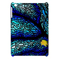 Sea Fans Diving Coral Stained Glass Apple Ipad Mini Hardshell Case by Onesevenart