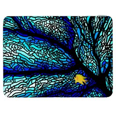 Sea Fans Diving Coral Stained Glass Samsung Galaxy Tab 7  P1000 Flip Case by Onesevenart