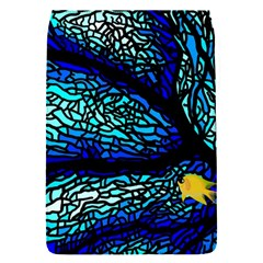 Sea Fans Diving Coral Stained Glass Flap Covers (s)  by Onesevenart