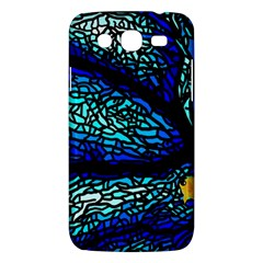 Sea Fans Diving Coral Stained Glass Samsung Galaxy Mega 5 8 I9152 Hardshell Case  by Onesevenart