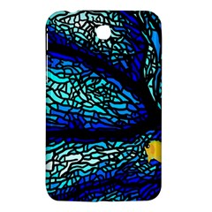 Sea Fans Diving Coral Stained Glass Samsung Galaxy Tab 3 (7 ) P3200 Hardshell Case  by Onesevenart