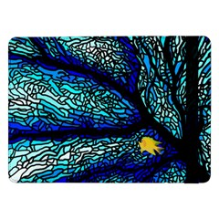 Sea Fans Diving Coral Stained Glass Samsung Galaxy Tab Pro 12 2  Flip Case by Onesevenart