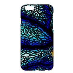 Sea Fans Diving Coral Stained Glass Apple Iphone 6 Plus/6s Plus Hardshell Case by Onesevenart