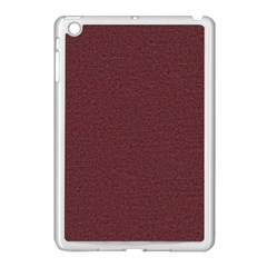 Seamless Texture Tileable Book Apple Ipad Mini Case (white) by Onesevenart