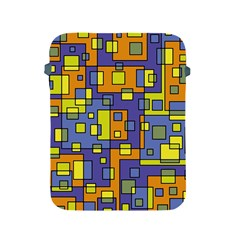 Square Background Background Texture Apple Ipad 2/3/4 Protective Soft Cases by Onesevenart