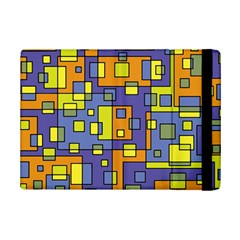 Square Background Background Texture Ipad Mini 2 Flip Cases by Onesevenart