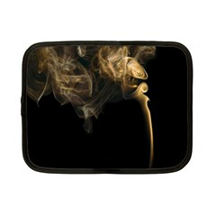 Smoke Fume Smolder Cigarette Air Netbook Case (small)  by Onesevenart
