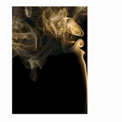 Smoke Fume Smolder Cigarette Air Large Garden Flag (two Sides) by Onesevenart