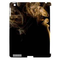 Smoke Fume Smolder Cigarette Air Apple Ipad 3/4 Hardshell Case (compatible With Smart Cover) by Onesevenart