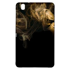 Smoke Fume Smolder Cigarette Air Samsung Galaxy Tab Pro 8 4 Hardshell Case by Onesevenart