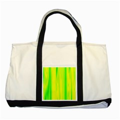 Shading Pattern Symphony Two Tone Tote Bag by Onesevenart