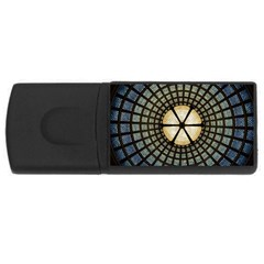 Stained Glass Colorful Glass USB Flash Drive Rectangular (2 GB)
