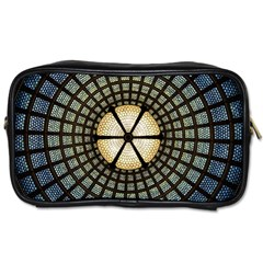 Stained Glass Colorful Glass Toiletries Bags by Onesevenart