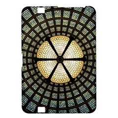 Stained Glass Colorful Glass Kindle Fire Hd 8 9  by Onesevenart