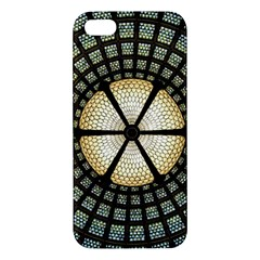 Stained Glass Colorful Glass Iphone 5s/ Se Premium Hardshell Case by Onesevenart