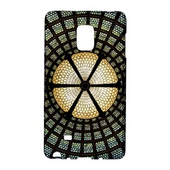 Stained Glass Colorful Glass Galaxy Note Edge by Onesevenart