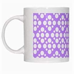 The Background Background Design White Mugs by Onesevenart