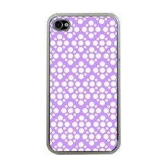 The Background Background Design Apple Iphone 4 Case (clear) by Onesevenart