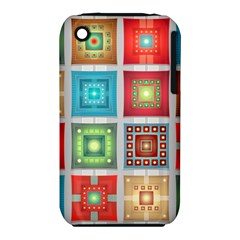 Tiles Pattern Background Colorful Iphone 3s/3gs by Onesevenart
