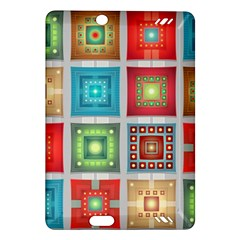 Tiles Pattern Background Colorful Amazon Kindle Fire Hd (2013) Hardshell Case by Onesevenart