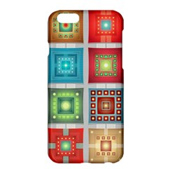 Tiles Pattern Background Colorful Apple Iphone 6 Plus/6s Plus Hardshell Case by Onesevenart