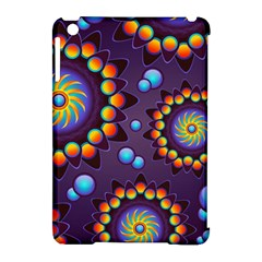 Texture Background Flower Pattern Apple Ipad Mini Hardshell Case (compatible With Smart Cover) by Onesevenart