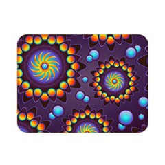 Texture Background Flower Pattern Double Sided Flano Blanket (mini)  by Onesevenart