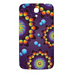 Texture Background Flower Pattern Samsung Galaxy Mega I9200 Hardshell Back Case by Onesevenart