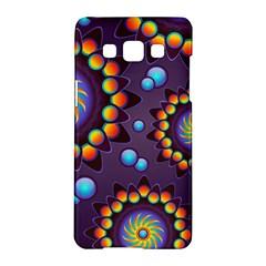 Texture Background Flower Pattern Samsung Galaxy A5 Hardshell Case  by Onesevenart