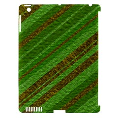 Stripes Course Texture Background Apple Ipad 3/4 Hardshell Case (compatible With Smart Cover) by Onesevenart