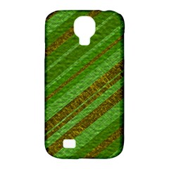 Stripes Course Texture Background Samsung Galaxy S4 Classic Hardshell Case (pc+silicone) by Onesevenart