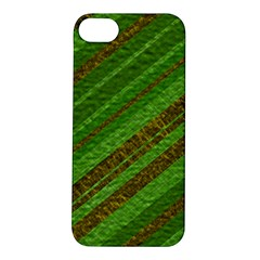 Stripes Course Texture Background Apple Iphone 5s/ Se Hardshell Case by Onesevenart