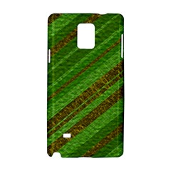 Stripes Course Texture Background Samsung Galaxy Note 4 Hardshell Case by Onesevenart