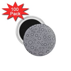 Water Glass Pattern Drops Wet 1 75  Magnets (100 Pack)  by Onesevenart