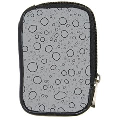 Water Glass Pattern Drops Wet Compact Camera Cases by Onesevenart