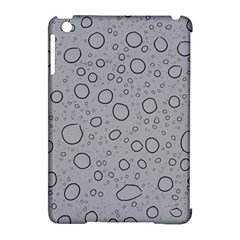 Water Glass Pattern Drops Wet Apple Ipad Mini Hardshell Case (compatible With Smart Cover) by Onesevenart