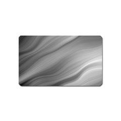 Wave Form Texture Background Magnet (name Card) by Onesevenart