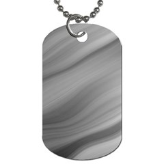 Wave Form Texture Background Dog Tag (two Sides) by Onesevenart