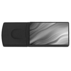 Wave Form Texture Background Usb Flash Drive Rectangular (4 Gb) by Onesevenart