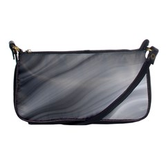 Wave Form Texture Background Shoulder Clutch Bags by Onesevenart