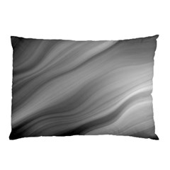 Wave Form Texture Background Pillow Case (two Sides) by Onesevenart