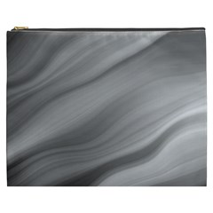 Wave Form Texture Background Cosmetic Bag (xxxl)  by Onesevenart