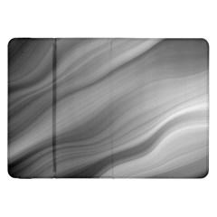 Wave Form Texture Background Samsung Galaxy Tab 8 9  P7300 Flip Case by Onesevenart