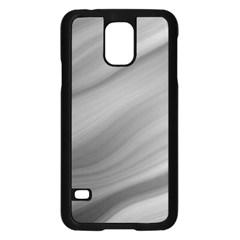 Wave Form Texture Background Samsung Galaxy S5 Case (black) by Onesevenart