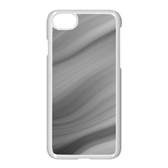 Wave Form Texture Background Apple Iphone 7 Seamless Case (white) by Onesevenart