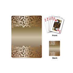 Floral Decoration Playing Cards (mini)  by Onesevenart
