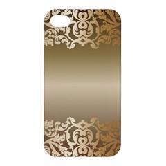 Floral Decoration Apple Iphone 4/4s Hardshell Case by Onesevenart